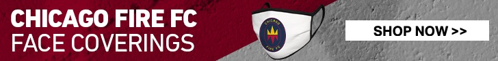 CHICAGO FIRE FC FACE COVERINGS | SHOP NOW